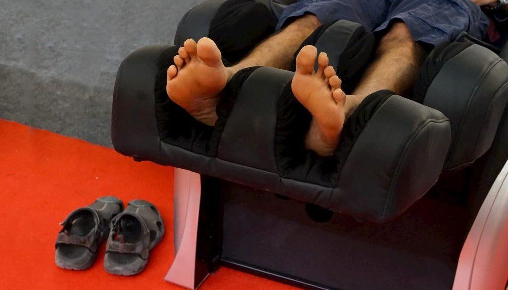 meilleur appareil massage jambes lourdes