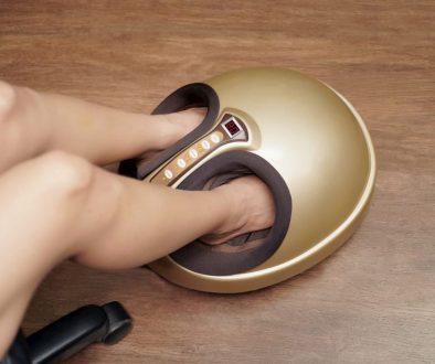 masseur pied shiatsu